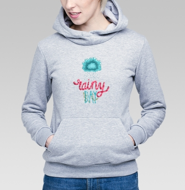Rainy Day - Купить детские толстовки с цитатами в Москве, цена детских толстовок с цитатами  с прикольными принтами - магазин дизайнерской одежды MaryJane