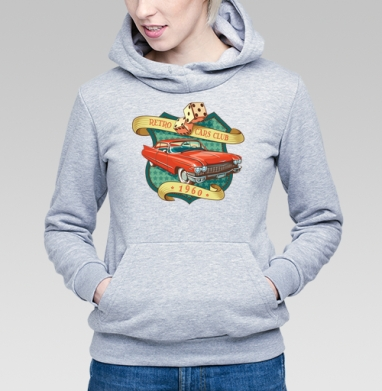 Retro cars club - Купить детские толстовки ретро в Москве, цена детских толстовок ретро  с прикольными принтами - магазин дизайнерской одежды MaryJane