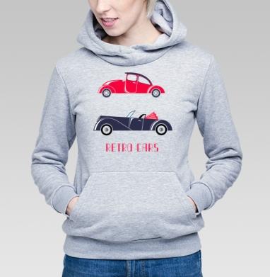 Retro cars - Купить детские толстовки с автомобилями в Москве, цена детских толстовок с автомобилями  с прикольными принтами - магазин дизайнерской одежды MaryJane