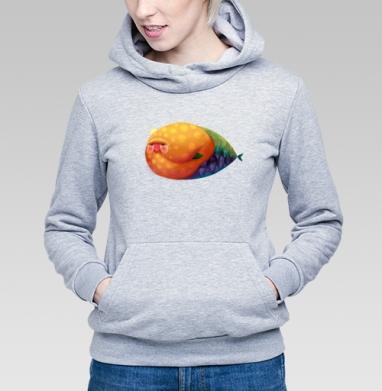 Русал - Купить детские толстовки с рыбой в Москве, цена детских толстовок с рыбой  с прикольными принтами - магазин дизайнерской одежды MaryJane