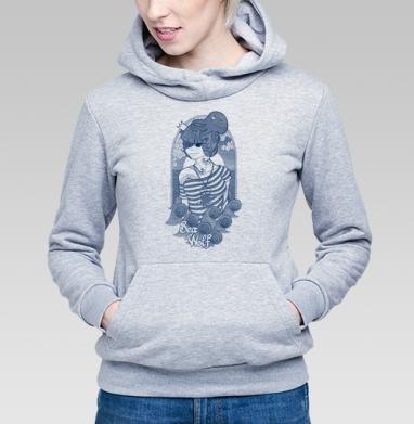 Sea wolf - Купить детские толстовки с волками в Москве, цена детских толстовок с волками  с прикольными принтами - магазин дизайнерской одежды MaryJane