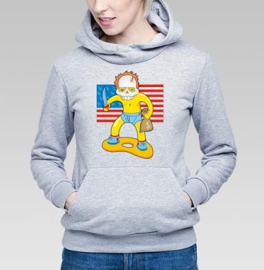 Солдат - Купить детские толстовки с оружием в Москве, цена детских  с оружием  с прикольными принтами - магазин дизайнерской одежды MaryJane