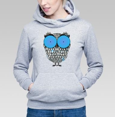 Сова-гипнотизер  - Купить детские толстовки с птицами в Москве, цена детских толстовок с птицами  с прикольными принтами - магазин дизайнерской одежды MaryJane