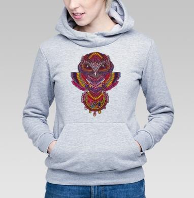 Совуша с ловцом - Купить детские толстовки этно в Москве, цена детских толстовок этно  с прикольными принтами - магазин дизайнерской одежды MaryJane