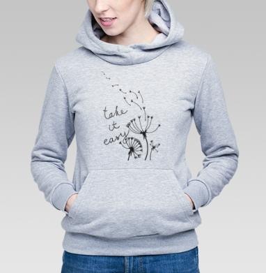 Take it easy! - Купить детские толстовки романтика в Москве, цена детских толстовок романтических  с прикольными принтами - магазин дизайнерской одежды MaryJane