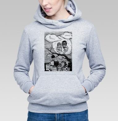 Вечерний кофе - Купить детские толстовки с городами в Москве, цена детских толстовок с городами  с прикольными принтами - магазин дизайнерской одежды MaryJane