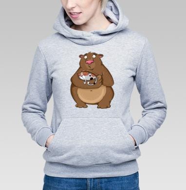 Всем мимиМИШКАМ - мимими - Купить детские толстовки для влюбленных в Москве, цена детских  дли влюбленных  с прикольными принтами - магазин дизайнерской одежды MaryJane