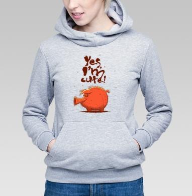 Yes, I'm Cute! - Купить детские толстовки со смайлами в Москве, цена детских толстовок со смайлами с прикольными принтами - магазин дизайнерской одежды MaryJane