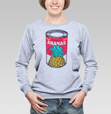 Сгущённый ананас - Купить детские свитшоты с фруктами в Москве, цена детских свитшотов с фруктами  с прикольными принтами - магазин дизайнерской одежды MaryJane