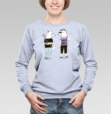 Банда - Купить детские свитшоты с волками в Москве, цена детских свитшотов с волками  с прикольными принтами - магазин дизайнерской одежды MaryJane
