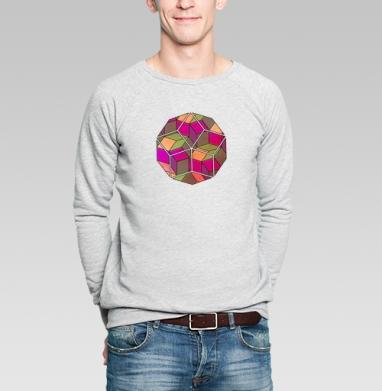Арнамент - Купить мужские свитшоты с геометрическим рисунком в Москве, цена мужских свитшотов с геометрическим рисунком  с прикольными принтами - магазин дизайнерской одежды MaryJane