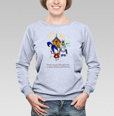 Анфиса и кукушка - Купить детские свитшоты Анфиса и звери в Москве, цена детских свитшотов Анфиса и звери  с прикольными принтами - магазин дизайнерской одежды MaryJane