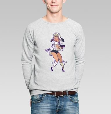 ах ты бедная овечкааа - Купить мужские свитшоты секс в Москве, цена мужских свитшотов секс  с прикольными принтами - магазин дизайнерской одежды MaryJane