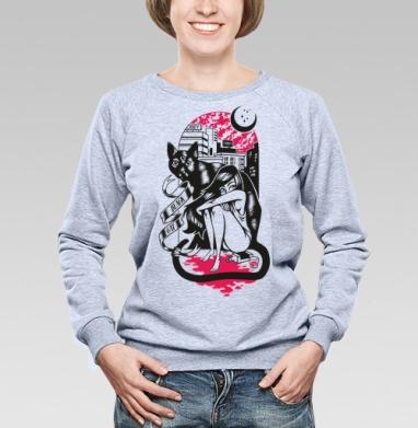 BLACK CAT - Купить детские свитшоты алкоголь в Москве, цена детских свитшотов с алкоголем с прикольными принтами - магазин дизайнерской одежды MaryJane