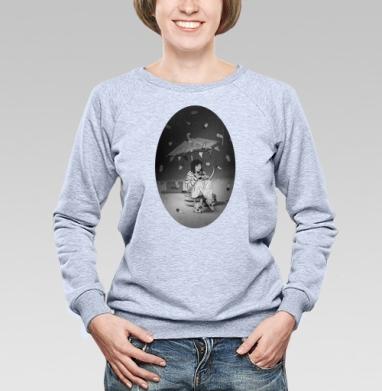 Чаепитие на луне - Купить детские свитшоты с мороженным в Москве, цена детских свитшотов с мороженным  с прикольными принтами - магазин дизайнерской одежды MaryJane