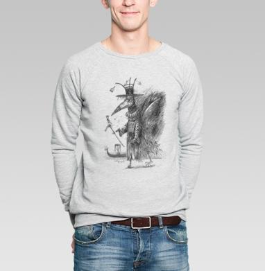 Чума - Купить мужские свитшоты с черепом в Москве, цена мужских  с черепом  с прикольными принтами - магазин дизайнерской одежды MaryJane