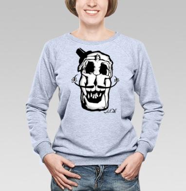 Dali Skull - Купить детские свитшоты секс в Москве, цена детских свитшотов секс  с прикольными принтами - магазин дизайнерской одежды MaryJane