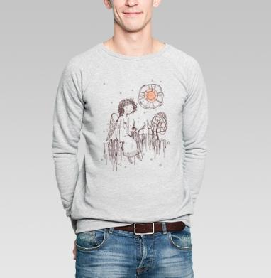 Душевный разговор ... - Купить мужские свитшоты с символами в Москве, цена мужских свитшотов с символом с прикольными принтами - магазин дизайнерской одежды MaryJane
