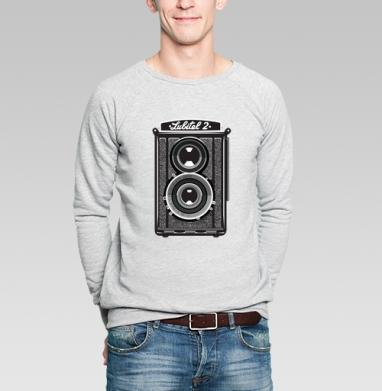 Фотолюбитель - Купить мужские свитшоты винтажные в Москве, цена мужских свитшотов винтажных  с прикольными принтами - магазин дизайнерской одежды MaryJane