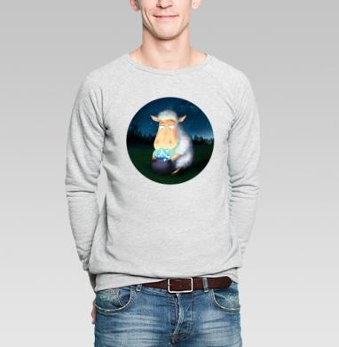 Горшочек для овечки - Купить мужские свитшоты со сказками в Москве, цена мужских свитшотов со сказками  с прикольными принтами - магазин дизайнерской одежды MaryJane
