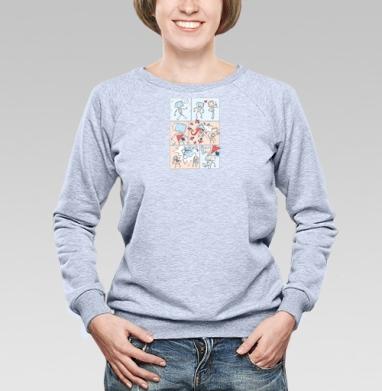 Гроза Вирусов - Купить детские свитшоты с роботами в Москве, цена детских свитшотов с роботами с прикольными принтами - магазин дизайнерской одежды MaryJane