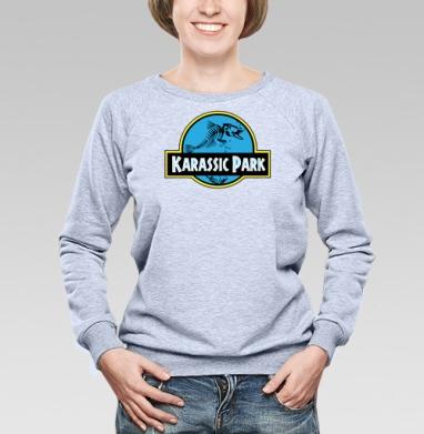 Карасик Парк - Купить детские свитшоты с китами в Москве, цена детских свитшотов с китом с прикольными принтами - магазин дизайнерской одежды MaryJane