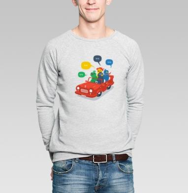 Кукушки - Купить мужские свитшоты с автомобилями в Москве, цена мужских  с автомобилями  с прикольными принтами - магазин дизайнерской одежды MaryJane