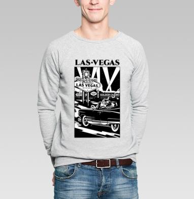Лас Вегас  - Купить мужские свитшоты с городами в Москве, цена мужских свитшотов с городами  с прикольными принтами - магазин дизайнерской одежды MaryJane