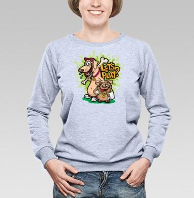 Let's play - Купить детские свитшоты спортивные в Москве, цена детских свитшотов спортивных  с прикольными принтами - магазин дизайнерской одежды MaryJane