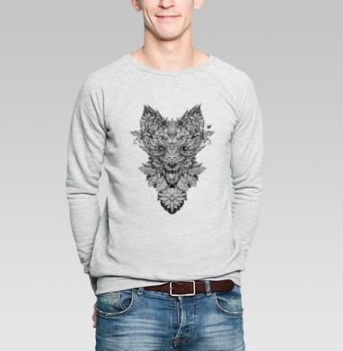 Лис Лист - Купить мужские свитшоты с илюстрациями в Москве, цена мужских свитшотов с илюстрациями  с прикольными принтами - магазин дизайнерской одежды MaryJane