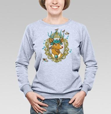 Милый олень - Купить детские свитшоты хипстерские в Москве, цена детских свитшотов хипстерских  с прикольными принтами - магазин дизайнерской одежды MaryJane