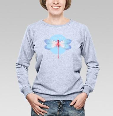 Odonata - Купить детские свитшоты с крыльями в Москве, цена детских свитшотов с крыльями с прикольными принтами - магазин дизайнерской одежды MaryJane