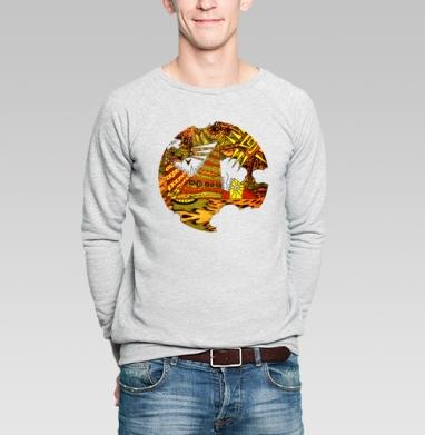 Орнаментопия - Купить мужские свитшоты винтажные в Москве, цена мужских свитшотов винтажных  с прикольными принтами - магазин дизайнерской одежды MaryJane