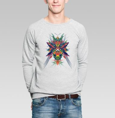 Парррр - Купить мужские свитшоты абстрактные в Москве, цена мужских свитшотов абстрактных  с прикольными принтами - магазин дизайнерской одежды MaryJane