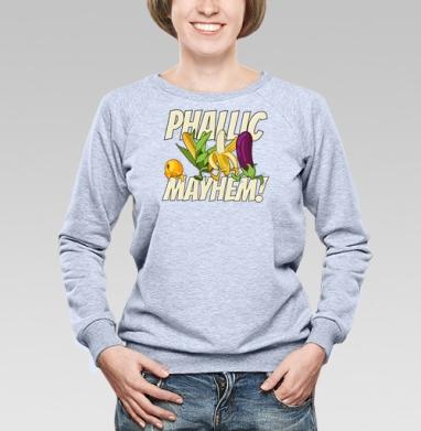 Phallic Mayhem! - Купить детские свитшоты спортивные в Москве, цена детских свитшотов спортивных  с прикольными принтами - магазин дизайнерской одежды MaryJane