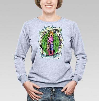Природная - Купить детские свитшоты с грибами в Москве, цена детских свитшотов с грибами с прикольными принтами - магазин дизайнерской одежды MaryJane