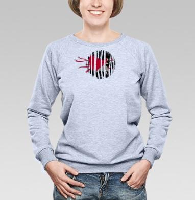 Red riding hoooood - Купить детские свитшоты с волками в Москве, цена детских свитшотов с волками  с прикольными принтами - магазин дизайнерской одежды MaryJane