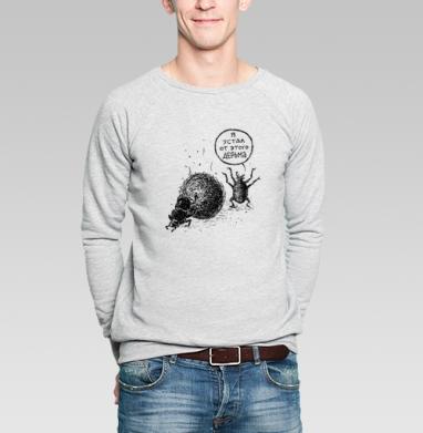 СКАРАБЕЙ - Купить мужские свитшоты с надписями в Москве, цена мужских свитшотов с надписями  с прикольными принтами - магазин дизайнерской одежды MaryJane