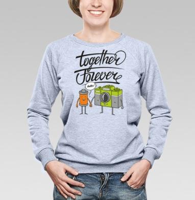 Together Forever - Купить детские свитшоты парные в Москве, цена детских свитшотов парных  с прикольными принтами - магазин дизайнерской одежды MaryJane