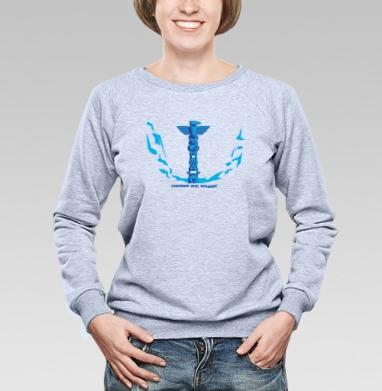 TOTEM - Купить детские свитшоты с индейцами в Москве, цена детских свитшотов с индейцами  с прикольными принтами - магазин дизайнерской одежды MaryJane