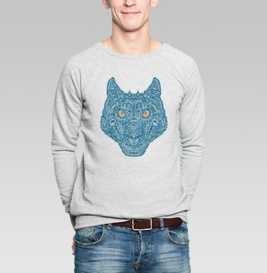 Вульф - Купить мужские свитшоты с волками в Москве, цена мужских  с волками  с прикольными принтами - магазин дизайнерской одежды MaryJane