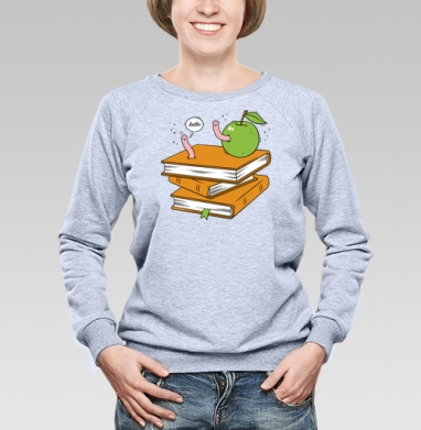 Worms - Купить детские свитшоты с фруктами в Москве, цена детских свитшотов с фруктами  с прикольными принтами - магазин дизайнерской одежды MaryJane