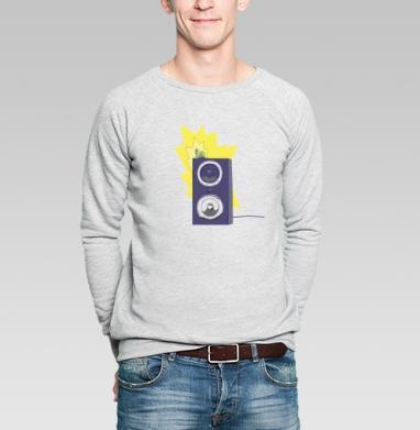 Rock - Купить мужские свитшоты с насекомыми в Москве, цена мужских свитшотов с насекомыми  с прикольными принтами - магазин дизайнерской одежды MaryJane
