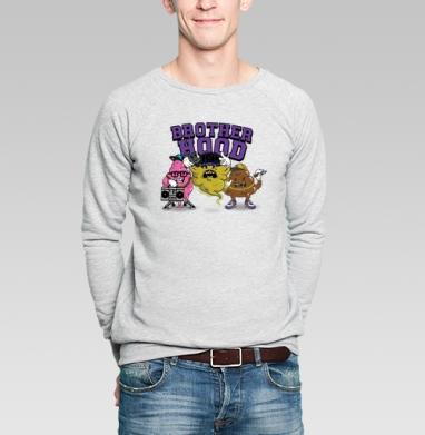 BROTHERHOOD - Купить мужские свитшоты с геометрическим рисунком в Москве, цена мужских свитшотов с геометрическим рисунком  с прикольными принтами - магазин дизайнерской одежды MaryJane