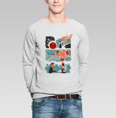 Челябинск - Купить мужские свитшоты с городами в Москве, цена мужских свитшотов с городами  с прикольными принтами - магазин дизайнерской одежды MaryJane