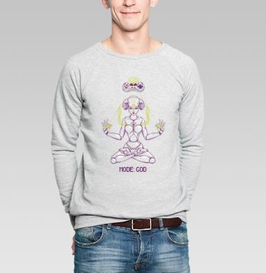 Cyborg - Купить мужские свитшоты с роботами в Москве, цена мужских свитшотов с роботами с прикольными принтами - магазин дизайнерской одежды MaryJane