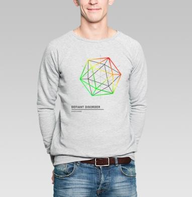 Defiant disorder - Купить мужские свитшоты с геометрическим рисунком в Москве, цена мужских свитшотов с геометрическим рисунком  с прикольными принтами - магазин дизайнерской одежды MaryJane