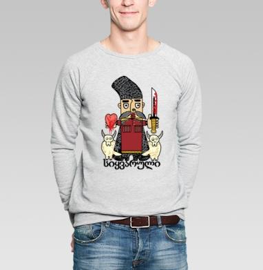 Djigit of love - Купить мужские свитшоты с людьми в Москве, цена мужских свитшотов с людьми  с прикольными принтами - магазин дизайнерской одежды MaryJane