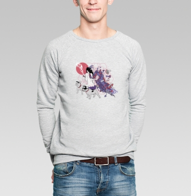 Dogs-guide - Купить мужские свитшоты с грибами в Москве, цена мужских свитшотов с грибами с прикольными принтами - магазин дизайнерской одежды MaryJane