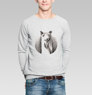 Дружба - Купить мужские свитшоты с собаками в Москве, цена мужских  с собаками  с прикольными принтами - магазин дизайнерской одежды MaryJane